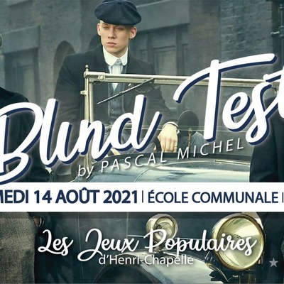 Blind-Test by Pascal Michel